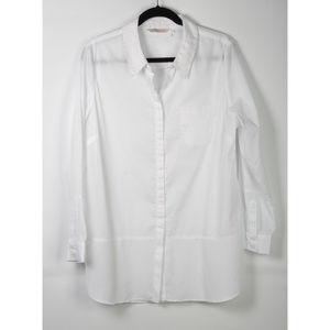 Soft Surroundings White Shirt Size XL
